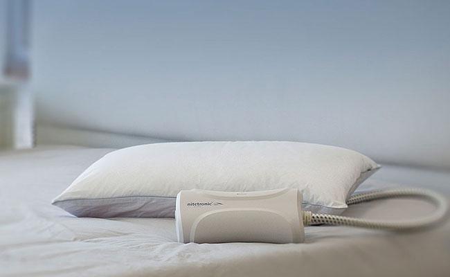 Smart snoring pillow