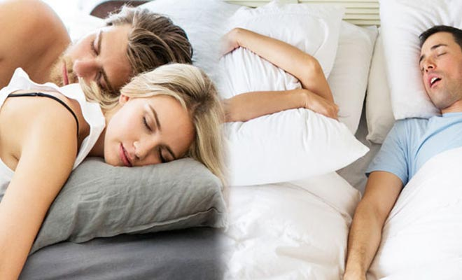 Sleeping Positions for snoring
